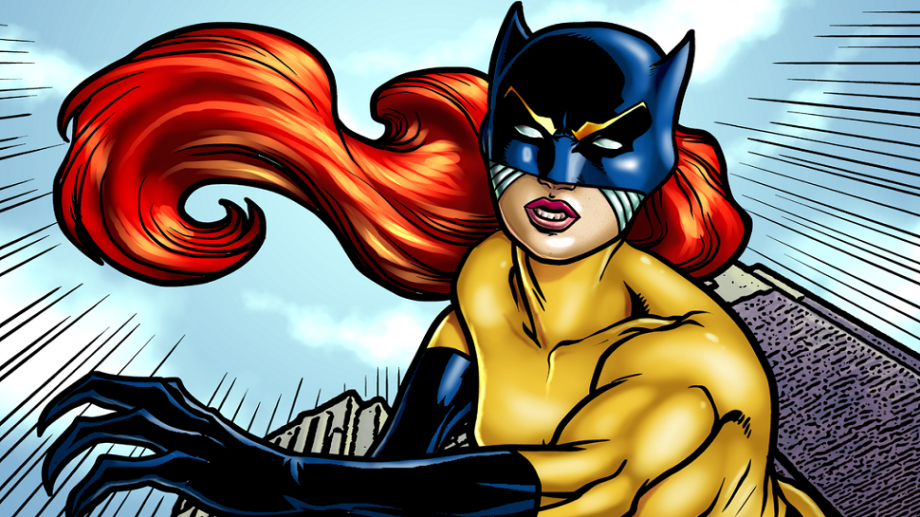 "Trish ""Patsy"" Walker som ""Hellcat""."